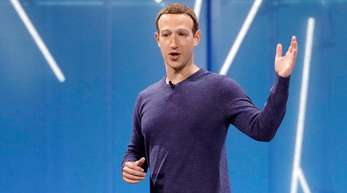 Facebook-Chef Mark Zuckerberg auf der neuerlichen Entwicklungskonferenz des Unternehmens. Marcio Jose Sanchez/AP/dpa