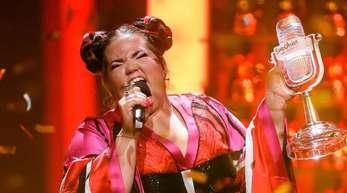 Die israelische Sängerin Netta Barzilai gewann mit ihrem Song «Toy» den 63. Eurovision Song Contest.