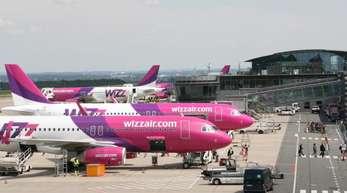 Der Billigflieger Wizz Air steuert viele Ziele in Osteuropa an.