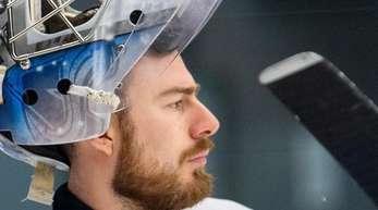 Muss gegen Kanada wohl passen:DEB-Goalie Philipp Grubauer.