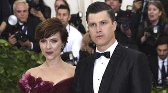 Scarlett Johansson und Colin Jost bei der «Met Gala» 2018.