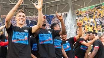 Der SC Paderborn spielt in der kommenden Saison wieder in der Fußball-Bundesliga.