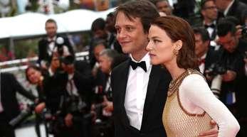 August Diehl und Valerie Pachner bei der Premiere des Films «A Hidden Life» in Cannes.