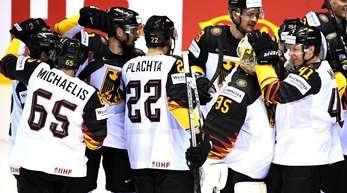 Deutschlands Eishockey-Nationalmannschaft trifft zum Abschluss der Vorrunde auf Finnland.
