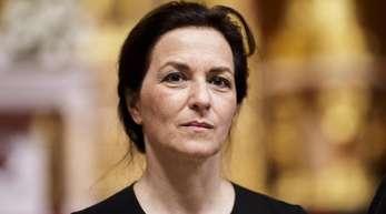 Martina Gedeck im Berliner Dom.