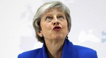 Premierministerin Theresa May war mit dem Brexit-Abkommen bereits drei Mal bei Abstimmungen im britischen Parlament gescheitert.