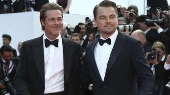 Leonardo DiCaprio und Brad Pitt sorgen in Cannes für Begeisterung.