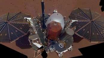 Der «InSight»-Lander hatte bei seiner Landung auf dem Mars im November bereits mehr als zwei Millionen Namen im Gepäck.