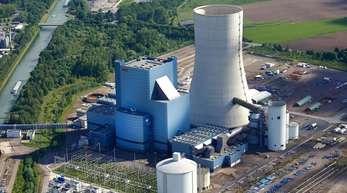 Das Steinkohle-Kraftwerk am Dortmund-Ems-Kanal in Datteln.