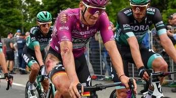 Pascal Ackermann war auf der 10. Etappe des Giro dItalia schwer gestürzt.