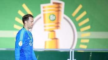 Bayern-Keeper Manuel Neuer hofft auf seinen Einsatz im DFB-Pokalfinale.