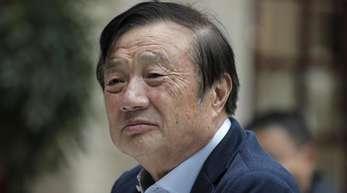 Ren Zhengfei, Gründer und Chef des Unternehmens Huawei, übt Kritik anUS-Präsident Trump.