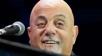 Billy Joel bei einem Konzert in Hamburg 2018.