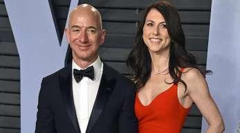 Jeff und MacKenzie Bezos waren 25 Jahre miteinander verheiratet.
