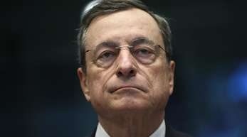 Der Herr des Nullzinses: EZB-Chef Mario Draghi.