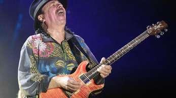 Carlos Santana will Einheit und Harmonie bringen.
