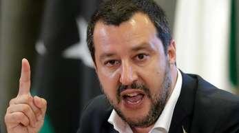 Italiens Innenminister Matteo Salvini hat bisher wenig Bereitschaft signalisiert, die Schulden des Landes abbauen zu wollen.
