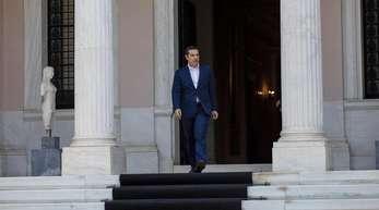 Die Partei Syriza liegt nur noch bei einer Zustimmung von 26 Prozent.