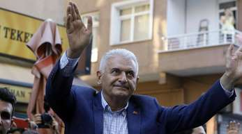 Binali Yildirim, Ex-Ministerpräsident und Bürgermeisterkandidat für Istanbul von der islamisch-konservativen Regierungspartei AKP.