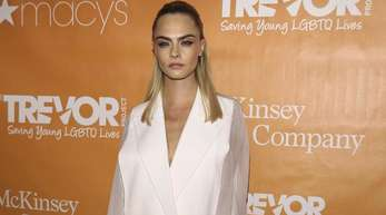 Cara Delevingne bei der Gala der Hilfsorganisation «Trevor Project» in New York.
