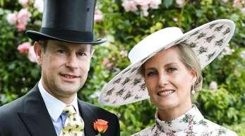 Prinz Edward und Gräfin Sophie von Wessex sind sozial stark engagiert.
