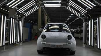 Pkw des Elektroauto-Herstellers e.Go. Was zu tun ist, um möglichst schnell möglichst viele E-Autos auf die Straße zu bringen, dürfte die zentrale Frage beim Autogipfel im Kanzleramt sein.