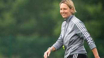 Trifft mit dem DFB-Team auf Schweden: Trainerin Martina Voss-Tecklenburg.
