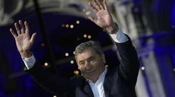 Eddy Merckx wurde in Brüssel gefeiert.
