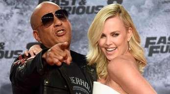 Vin Diesel steht wieder mit Charlize Theron vor der Kamera.