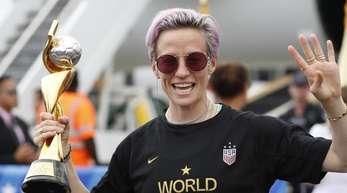 Frau klarer Worte: Fußball-Weltmeisterin Megan Rapinoe.