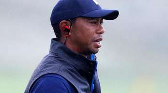 Einer der Siegesanwärter bei den 148. British Open: Golf-Superstar Tiger Woods.