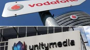 Vodafone darf den Kabelanbieter Unitymedia übernehmen - allerdings nur unter Auflagen. Fotos: dpa