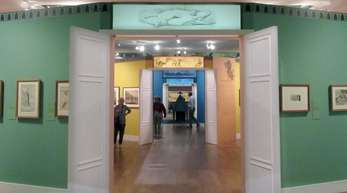 Rund 140 Papierarbeiten aus der Zeit der deutschen Romantik sind im Petit Palais in paris zu sehen.