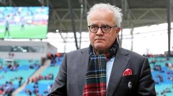 Der Freiburger Clubchef Fritz Keller soll neuer DFB-Präsident werden.