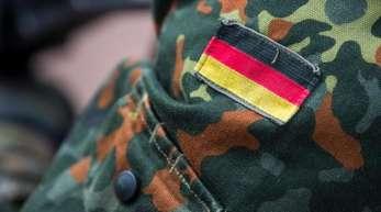 Der Ärmel einer Bundeswehr-Uniform.