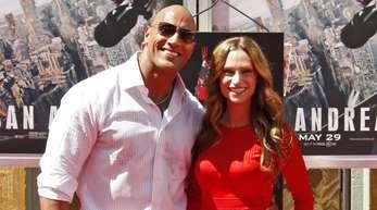 Dwayne Johnson und Lauren Hashian haben sich getraut.