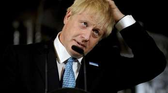Startet eine diplomatische Offensive: Großbritanniens Premierminister Boris Johnson.