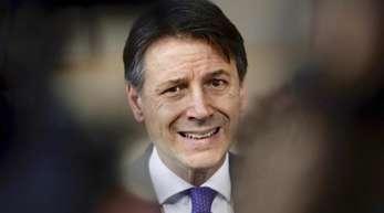 Der Jurist Giuseppe Conte ist Ministerpräsident der Koalition zwischen der Fünf-Sterne-Bewegung und der rechtspopulistischen Lega.