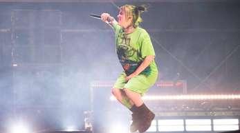 Billie Eilish war der Top-Act beim «MS Dockville»-Festival in Hamburg-Wilhelmsburg.