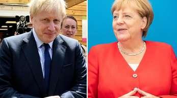 Zum ersten Mal seit seinem Amtsantritt als Premier kommt Boris Johnson nach Deutschland.