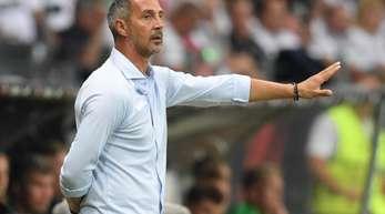 Will mit Eintracht Frankfurt in die Gruppenphase der Europa League: Trainer Adi Hütter.