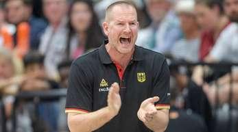 Mit Deutschlands Basketballern in China gefordert: Bundestrainer Hendrik Rödl.