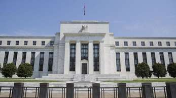 Das Marriner S. Eccles Federal Reserve Board Building in Washington ist Hauptsitz der US-Notenbank Federal Reserve.