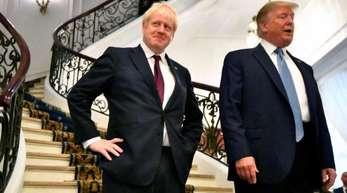 Sie schaffen neue Unruheherde:US-Präsident Donald Trump und der britische Premierminister Boris Johnson.