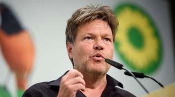 Grünen-Chef Robert Habeck schließt eine Koalition mit der CDUinSachsen nicht aus.
