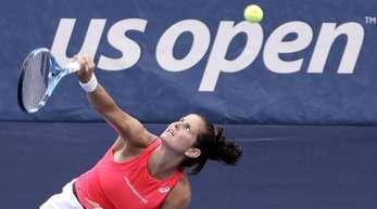 Hat bei den US Open die zweite Runde erreicht: Julia Görges in Aktion.
