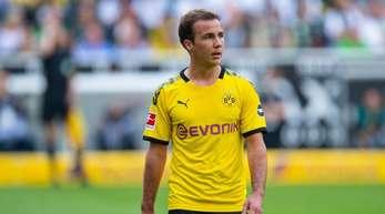 Beim BVB derzeit nur Auswechselspieler: Mario Götze.