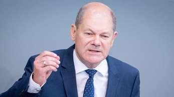 Finanzminister Olaf Scholz spricht sich gegen Strafzinsen für Sparer aus.