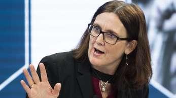 Cecilia Malmström ist EU-Kommissarin für Handel.