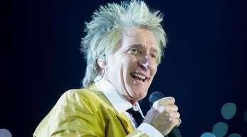 Der britische Sänger Rod Stewart gab sich offen.